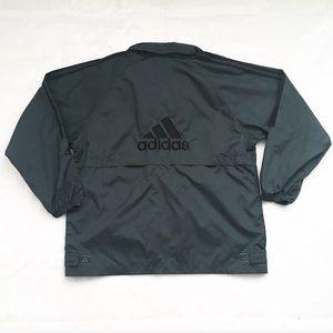 Gray Adidas Rain Jacket